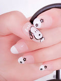 Laceshe Cute Snoopy Artificial False Nails