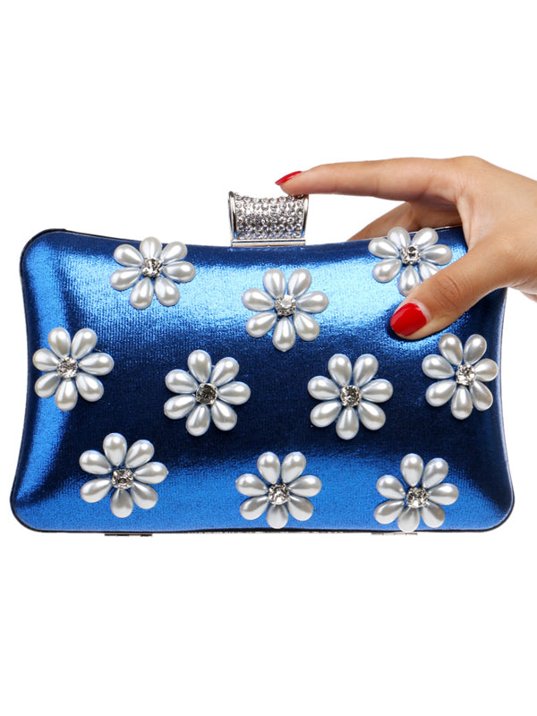LaceShe Women's Elegant Delicate Snowflake Evening Bag