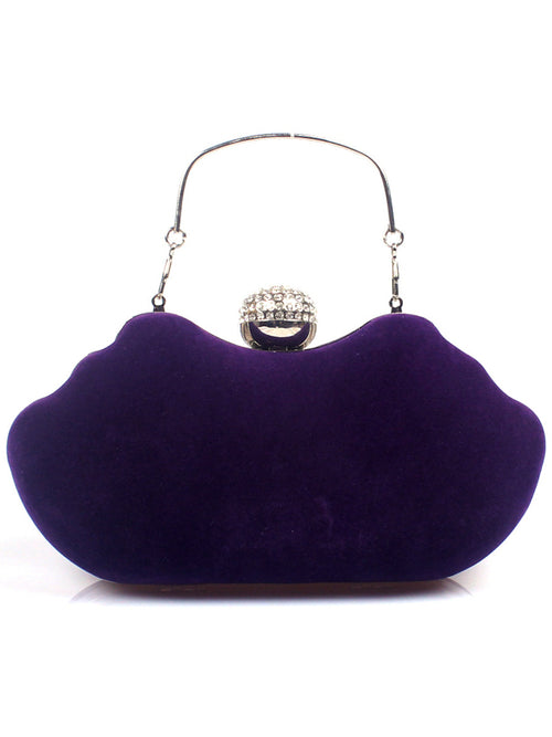 LaceShe Women's Velvet Evening Handbag