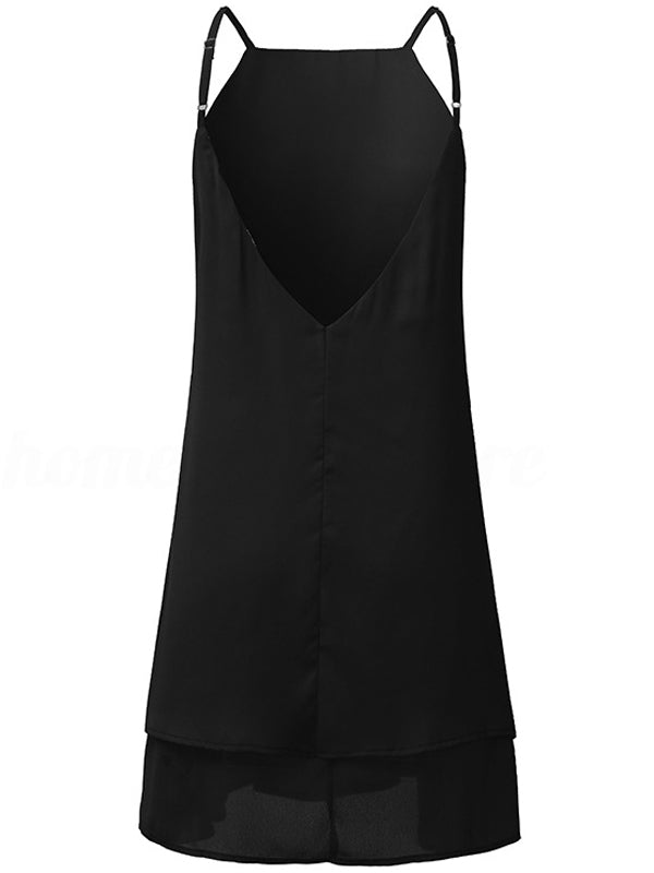 LaceShe Women's Sleeveless Sexy Summer Dress