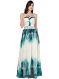 LaceShe Women's Delicate Flowy Bridesmaid Dress