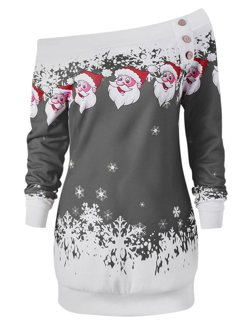Laceshe Women's Plus Size Ugly Christmas Sweatshirt