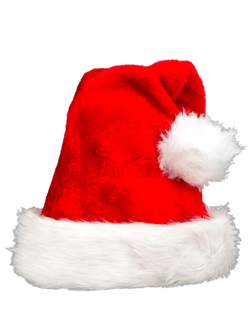 Laceshe Women's Christmas Santa Hat for Adult