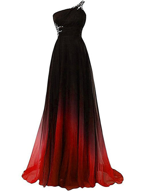 LaceShe Women's Stunning Off Shoulder Gown Dress