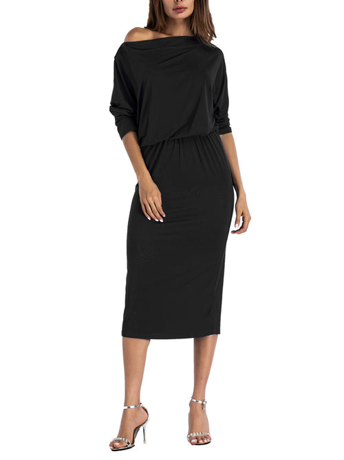 LaceShe Women's Flattering Sheath Casual Dress