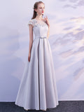 LaceShe Momen's Big Swing Sheath Long Bridesmaid Dress