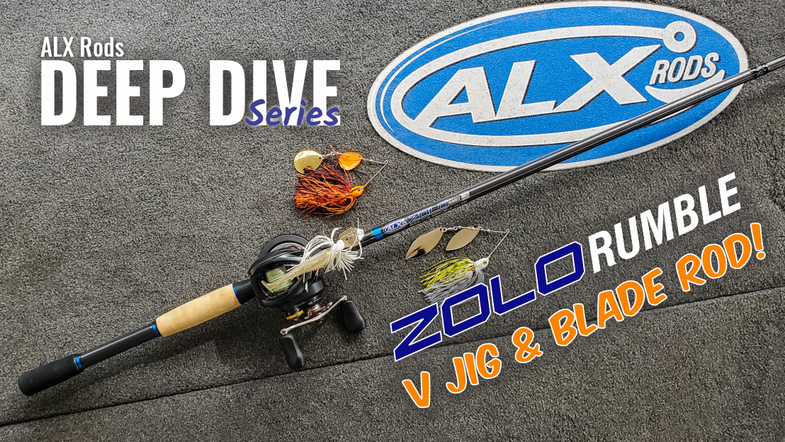 ALX Rods ZOLO Rumble Bass Fishing Rod Overview