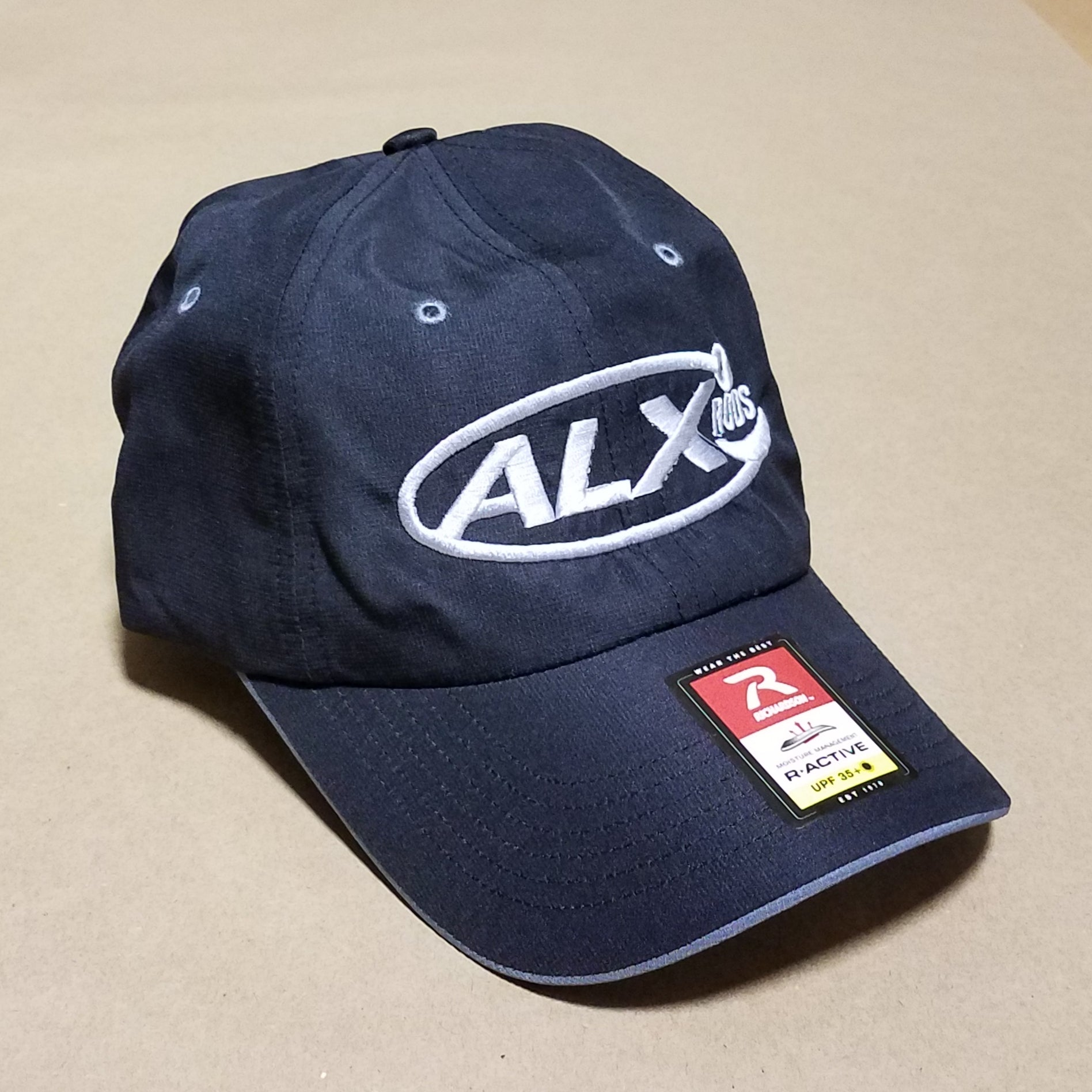 ALX Solar Active StayDry UPF35 Cap - Black