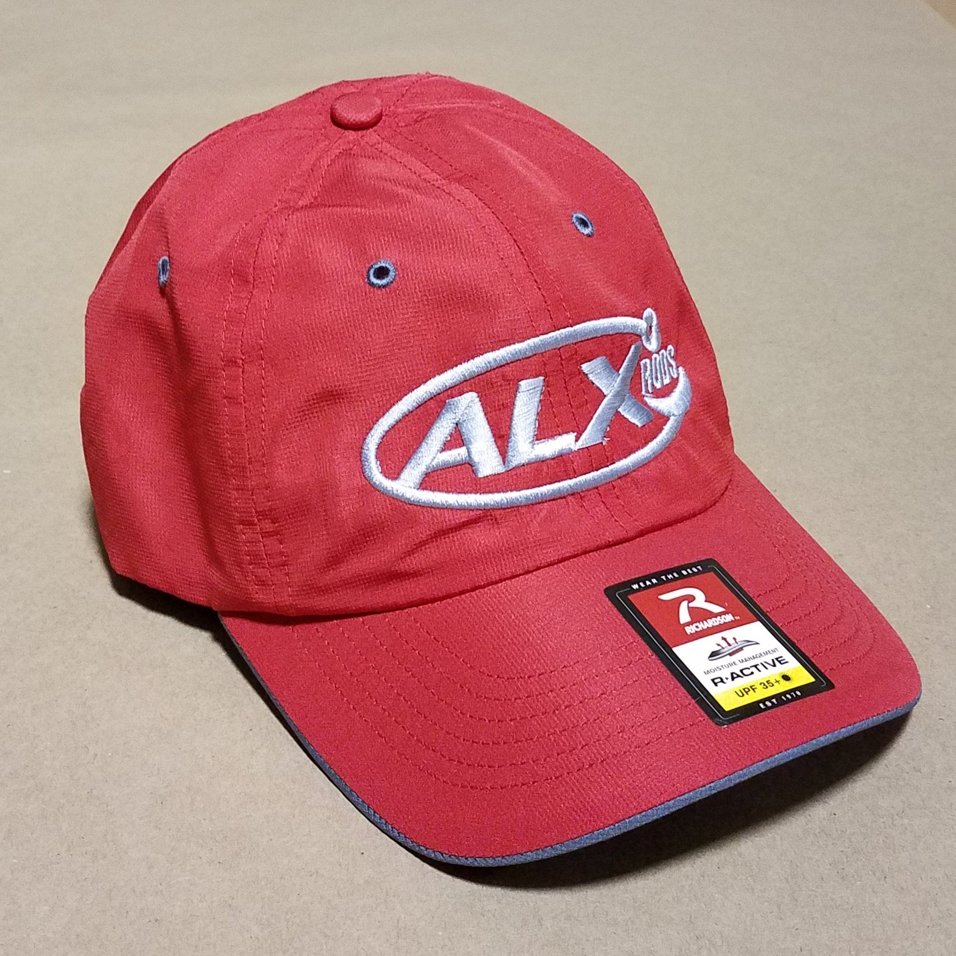 ALX Solar Active StayDry UPF35 Cap - Red