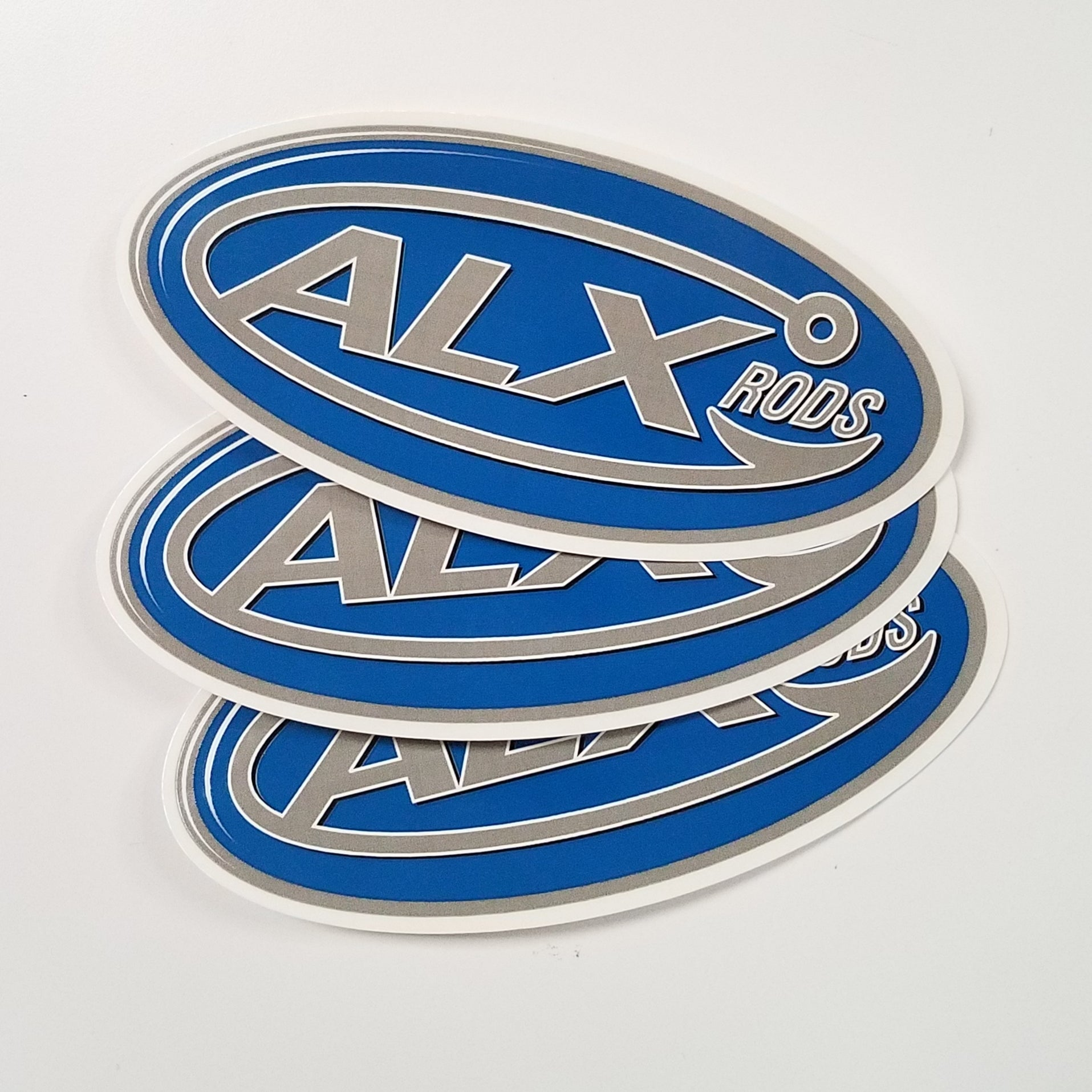 ALX Rods Decal 3 Pack