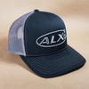 ALX Black/Charcoal Mesh Trucker Richardson Hat