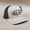 ALX Khaki/Brown Trucker Richardson Hat