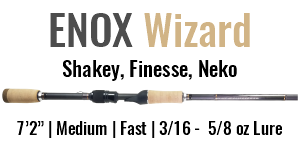 ENOX Wizard Spinning Rod