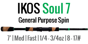 IKOS Soul 7 - 7', Medium, Fast Spinning
