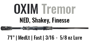 OXIM Tremor Spinning Rod