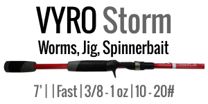 VYRO Storm - 7', Medium Heavy, Casting