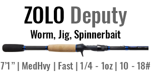 "ZOLO Deputy - 7'1"", Medium Heavy, Fast Casting"
