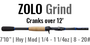 "ZOLO Grind - 7'10"", Heavy Cranking, ModFast Casting"