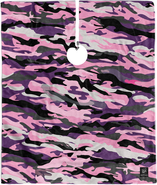 Pink Camo - Cutting Cape