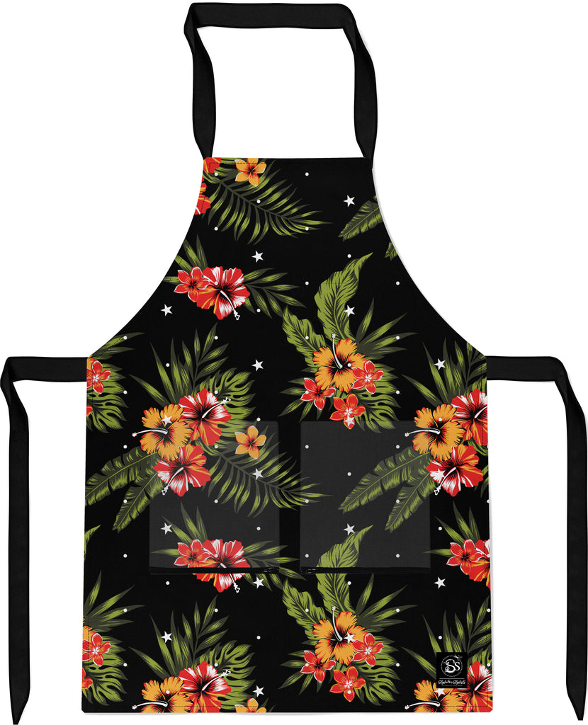 Tropical Flowers - Apron