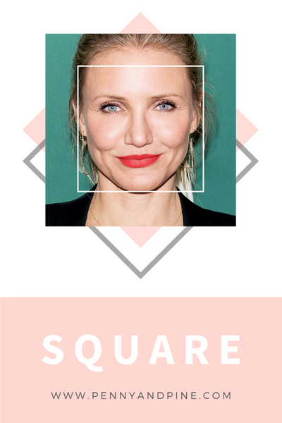 square face shape | How to Find Your Face Shape
