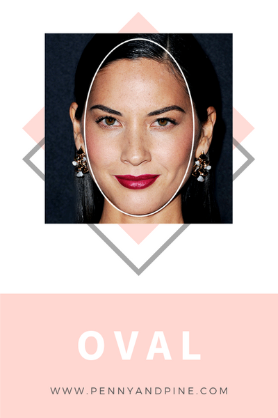 oval face shape | How to Find Your Face Shape