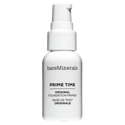 bareminerals prime time foundation primer | Best Makeup for Oily Skin
