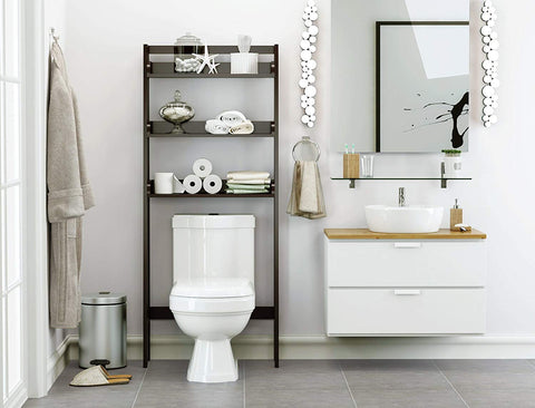 over the toilet shelf | Small Bathroom Organization Products