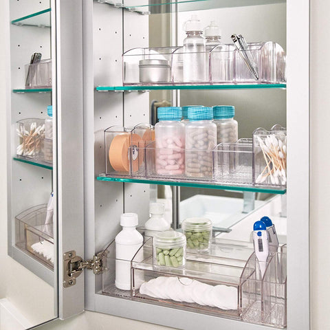 medicine cabinet organizer | Small Bathroom Organization Products