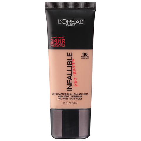 L'Oréal infallible 24 hour foundation | Best Makeup For Oily Skin