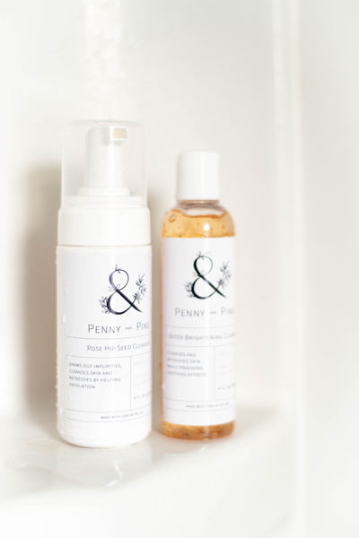 Penny and Pine cleansers | The Perfect Winter Skincare Routine for Your Skin Type