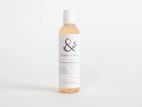 penny and pine detox brightening cleanser