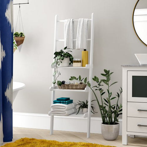 ladder for bathroom | Small Bathroom Organization Products