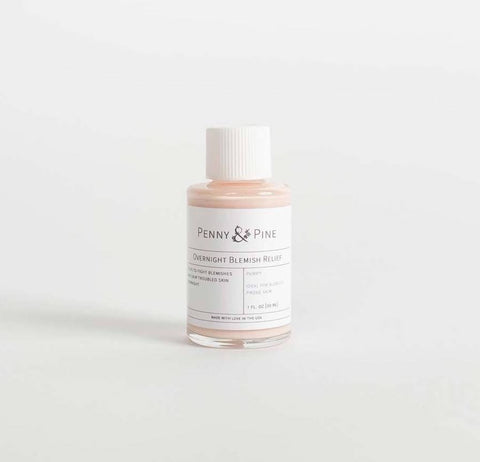 Penny and Pine Overnight Blemish Relief | The Best Vitamins for Your Skin