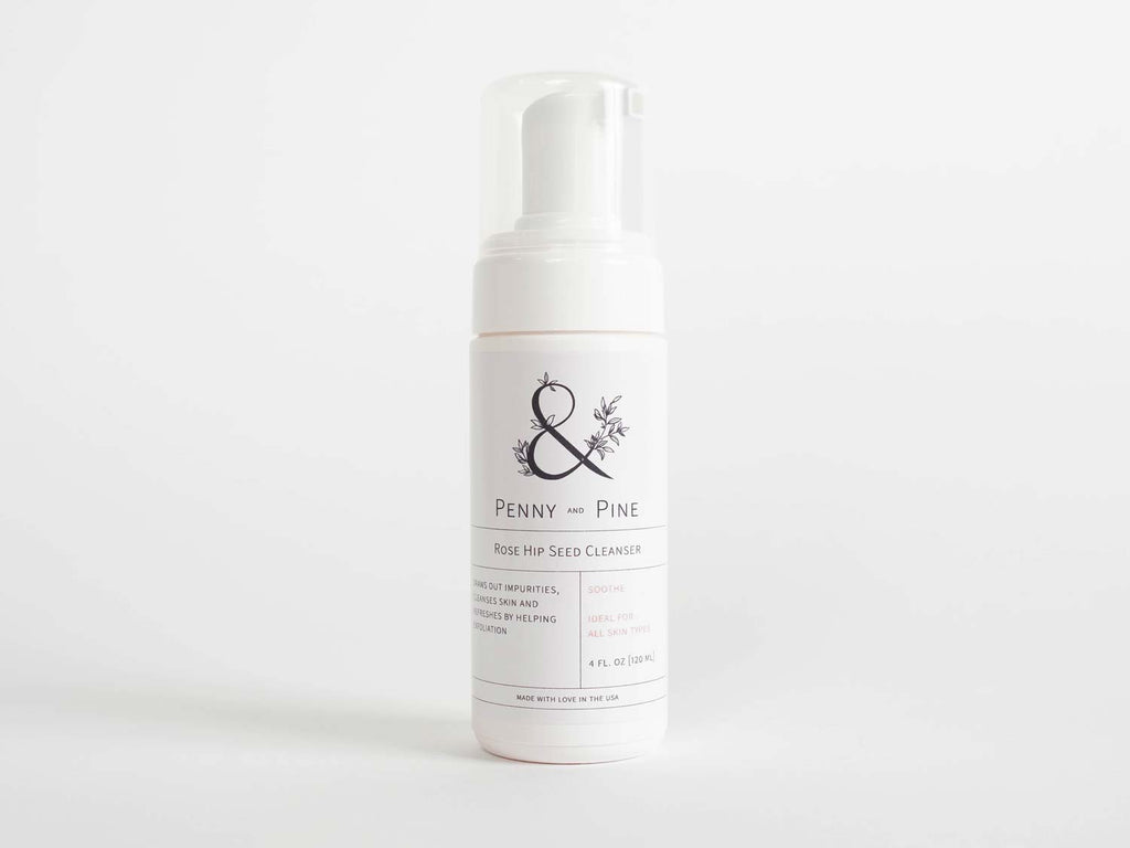 rose hip seed cleanser penny and pine