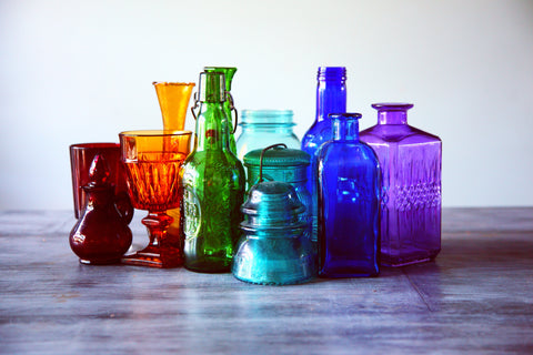 glass bottles | The Benefits of Recycling