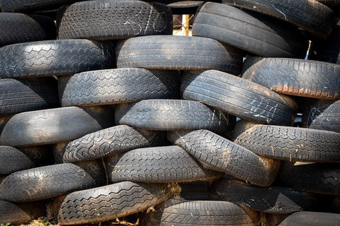 pile of tires | The Benefits of Recycling