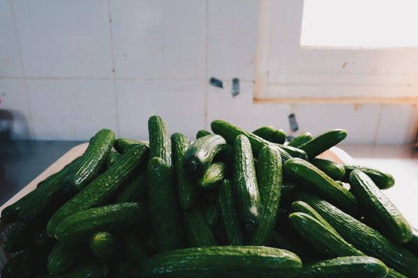 cucumbers | Our Favorite Ways to Reduce Redness on Your Face