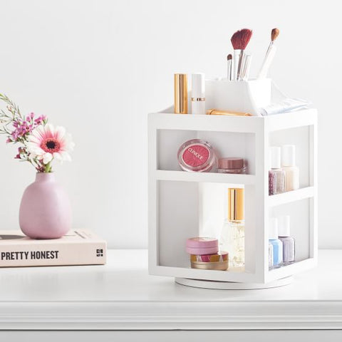 beauty rotating organizer | Small Bathroom Organization Products