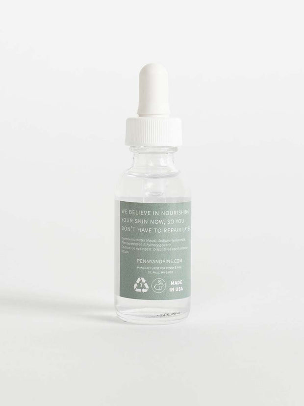 Hyaluronic Acid Serum for Face | Moisture Boost Serum | Penny & Pine
