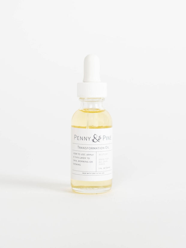Best Face Oil for All Skin Types | Transformation Oil by Penny & Pine