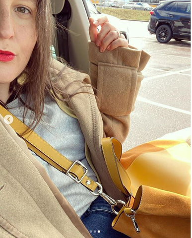 The perfect yellow everyday bag