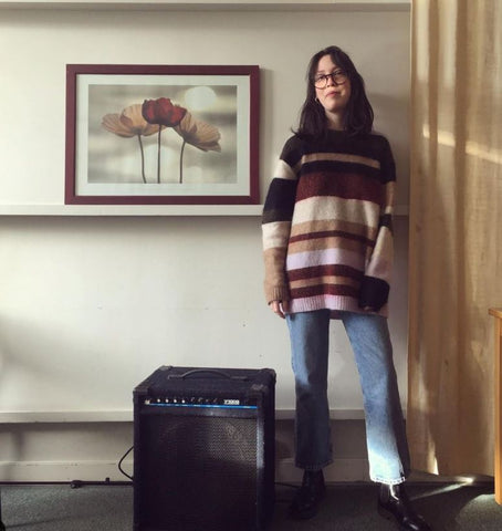 Music student with passion for sustainable fashion