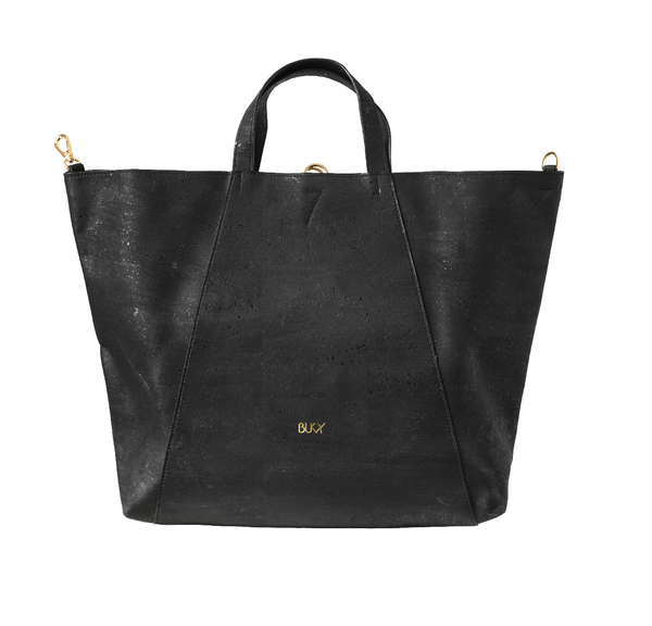 Sample: Midi Curie 3-in-1 bag - Vegan cork skinn