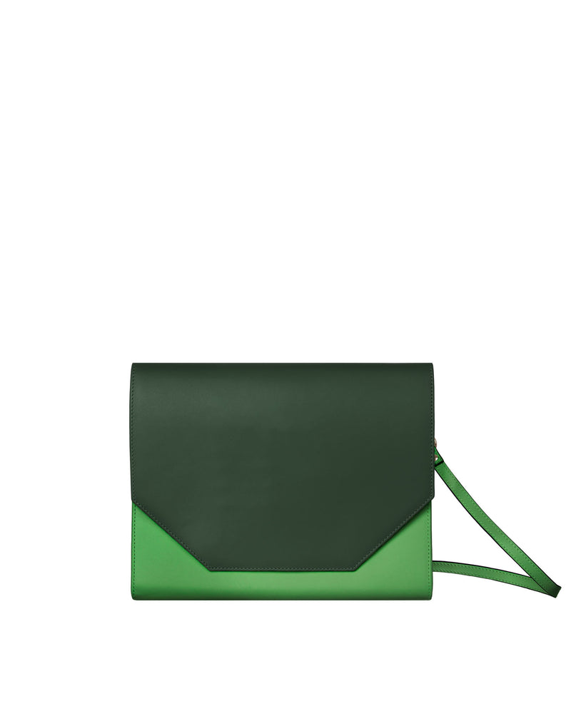Kahlo Maxi Wallet - Jade on Leaf
