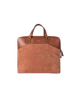 Sand-colored multifunctional bag with gold details