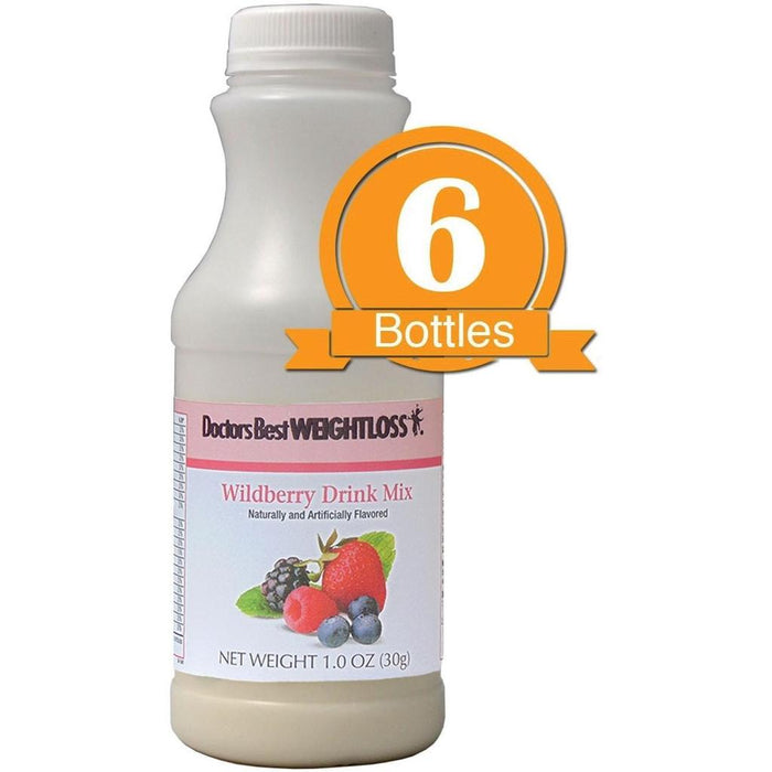 Wildberry Drink Mix (6-Pack Bottles)