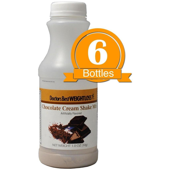 Chocolate Cream Protein Shake (6-Pack Bottles)