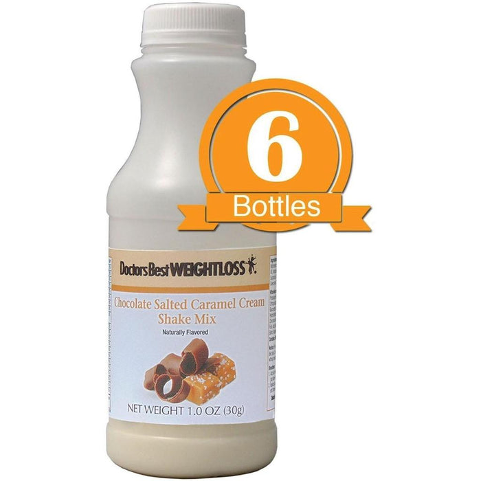 Chocolate Salted Caramel Cream Shake Mix (6-Pack Bottles)