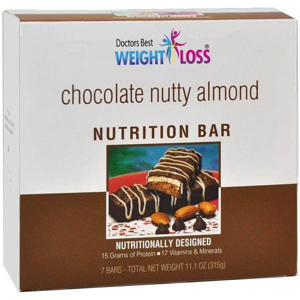 Chocolate Nutty Almond Nutrition Protein Bar